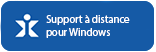 Support pour Windows